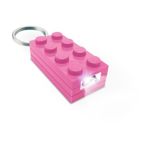 LEGO Pink 2 x 4 Key Light