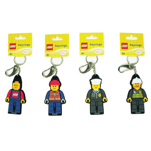 LEGO Construction Worker Keyring