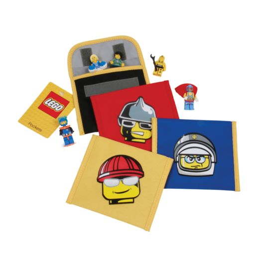 LEGO Construction Worker Mini Accessory Pouch
