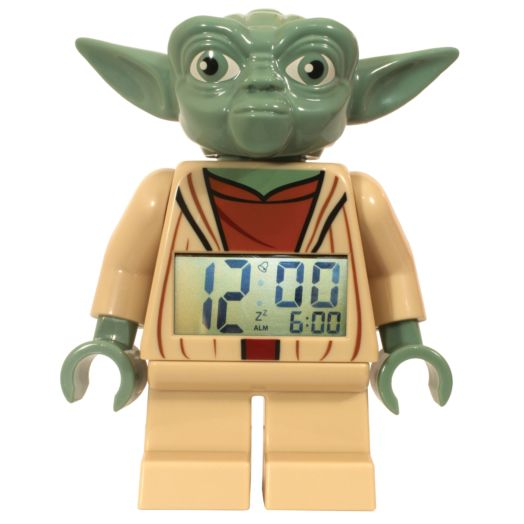 LEGO Star Wars Yoda Minifigure Clock