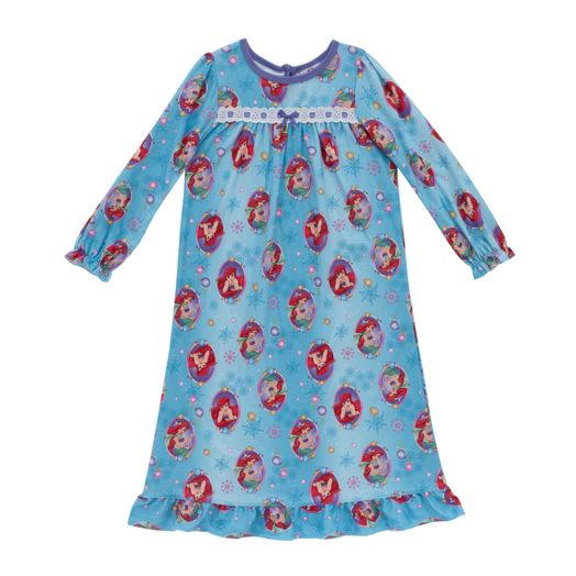 Disney Princess Little Mermaid Girls' Festive Granny Gown