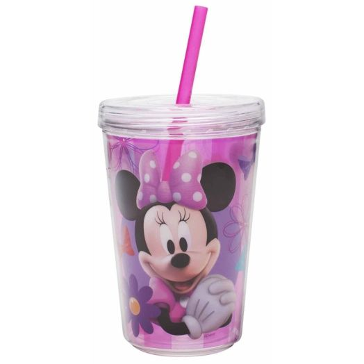 Minnie Mouse 13 oz. Tumbler with Straw