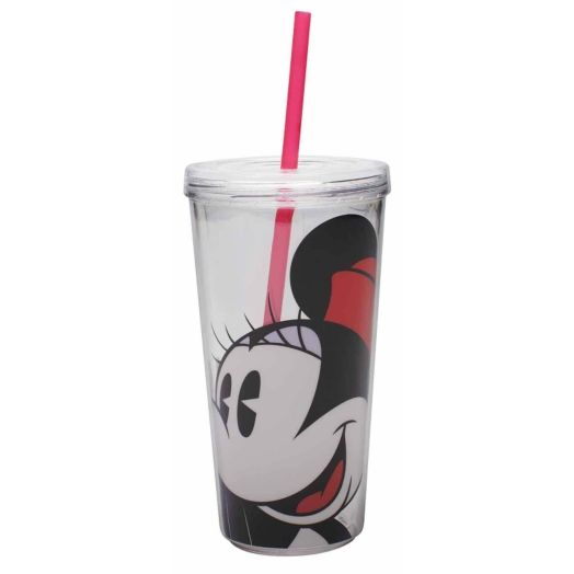 Minnie Mouse 16 oz. Tumbler with Straw