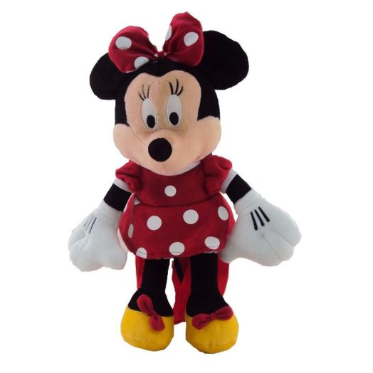 Disney Plush Minnie Mouse Bow-tique Backpack