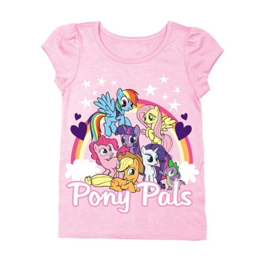 My Little Pony Pals Toddler Puff Long Sleeve Tee