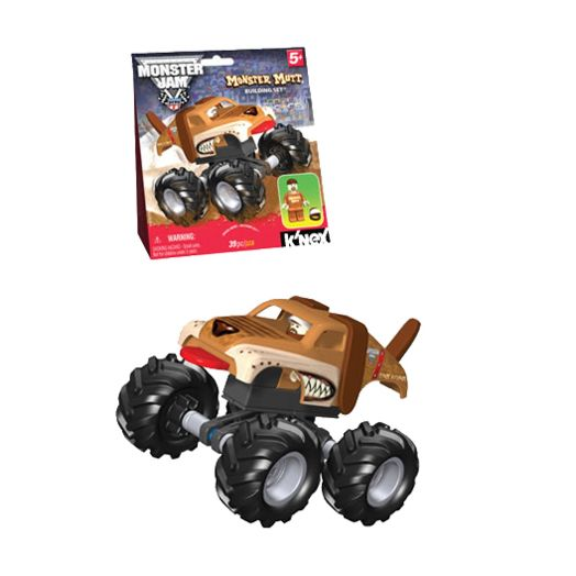 Monster Jam Monster Mutt Building Set