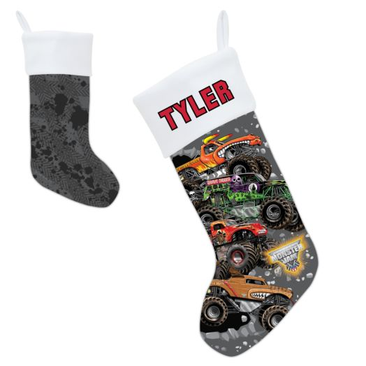 Monster Jam Breakin' Through Christmas Stocking
