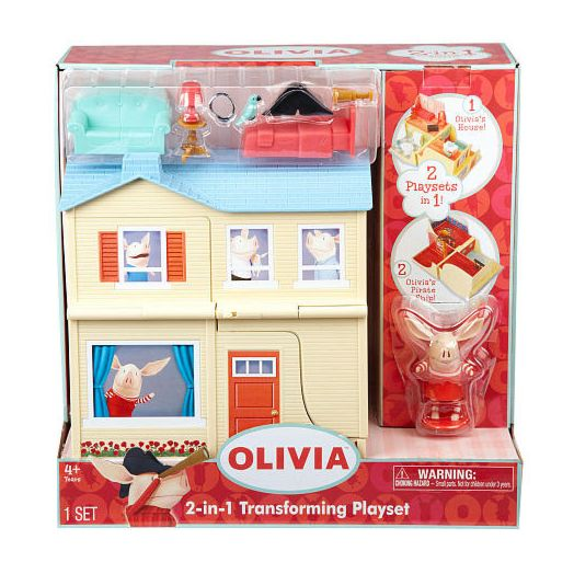 Olivia the Pig 2-in-1 Playset