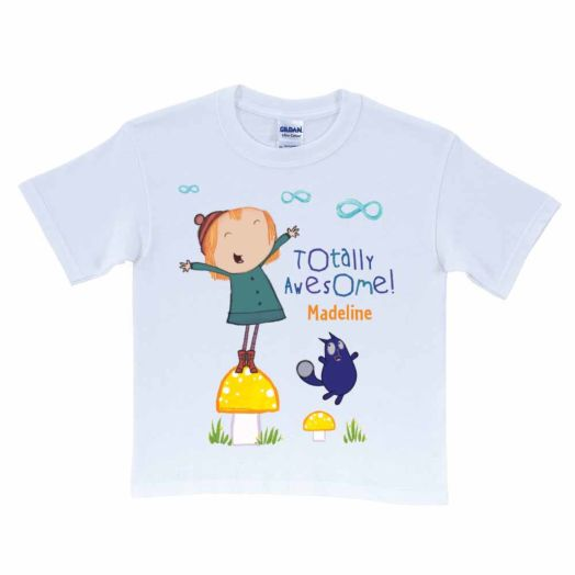Peg + Cat Totally Awesome Times Infinity White T-Shirt