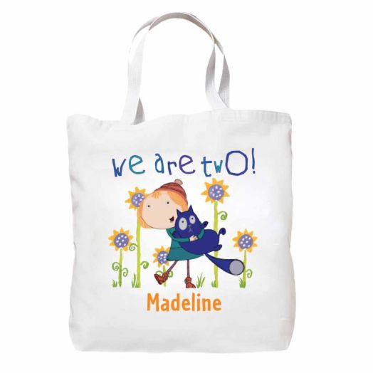 Peg + Cat We Are Two Tote Bag