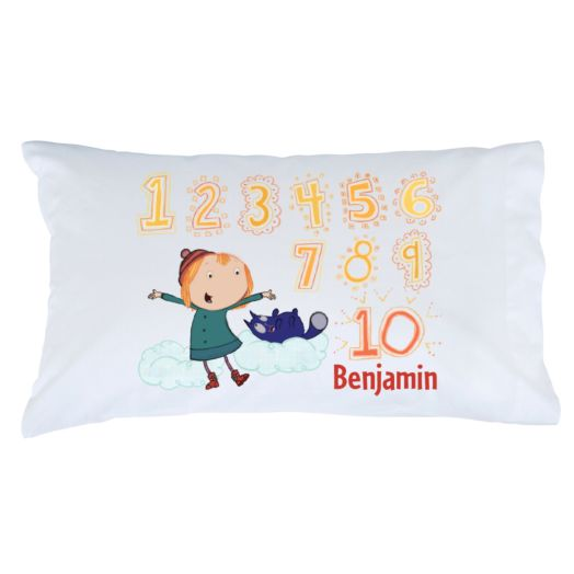 Peg + Cat Count to Ten Pillowcase