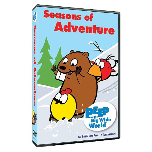 Peep and the Big Wide World: Seasons of Adventure DVD