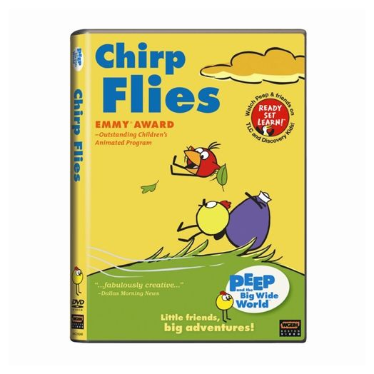 Peep and the Big Wide World - Chirp Flies - DVD
