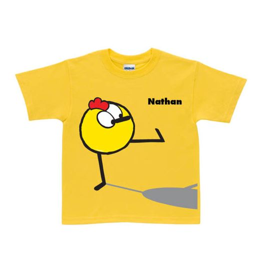 Peep Shadow Yellow T-Shirt