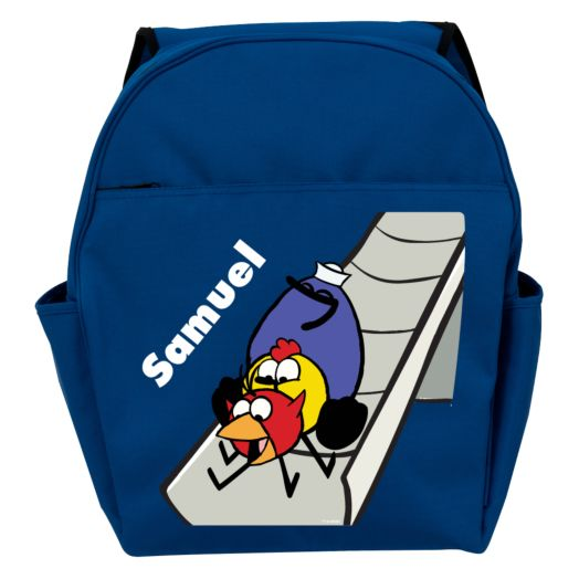 Peep and the Big Wide World Slide Blue Toddler Backpack