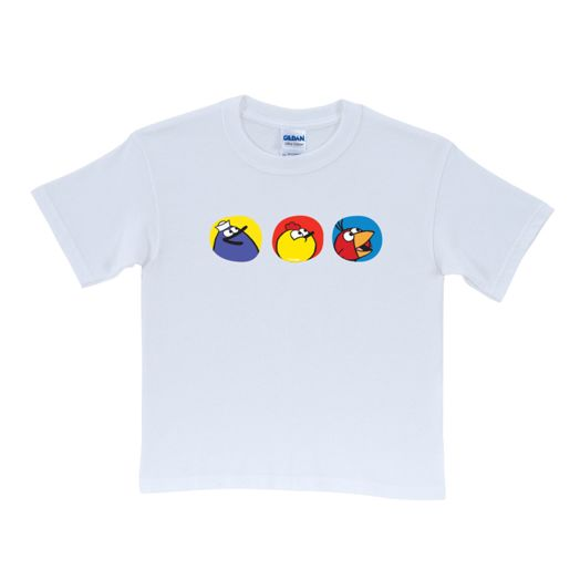 Peep & the Big Wide World Profiles White Adult T-Shirt