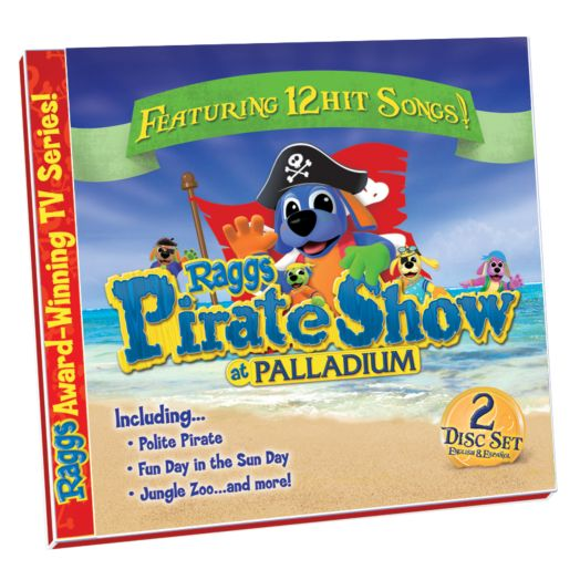 Raggs Pirate Show at Palladium 2 CD Set