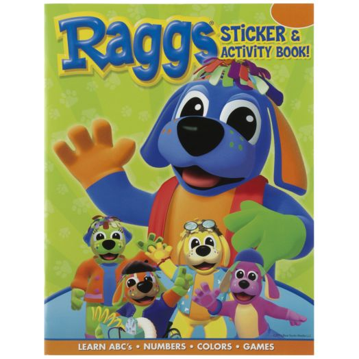 Raggs Sticker and Activity Book