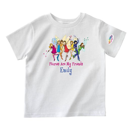 Rainbow Magic Friends White T-Shirt