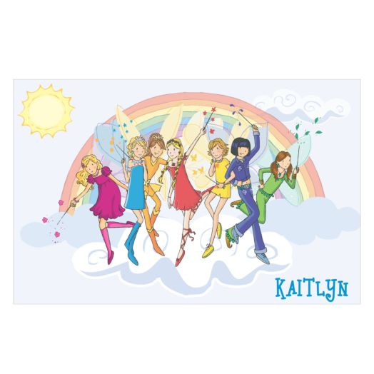 Rainbow Magic Rainbow Fairies Placemat