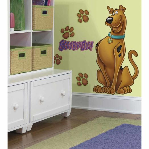 Scooby-Doo Peel & Stick Giant Wall Decal