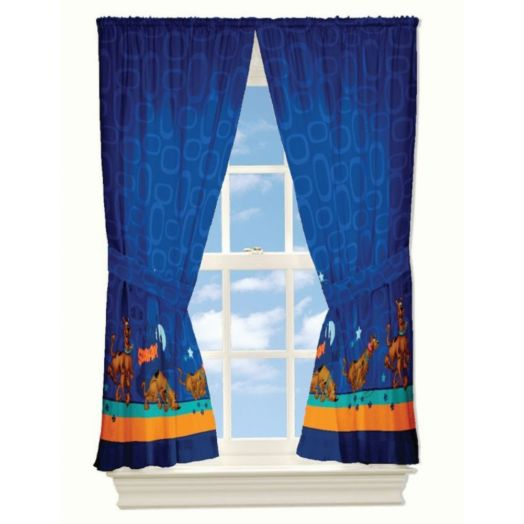 """Scooby Doo On The Trail 63"""" Drapes"""
