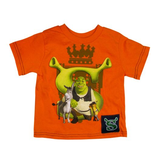 Shrek That's Great Time Orange iTalk Sound T-shirt