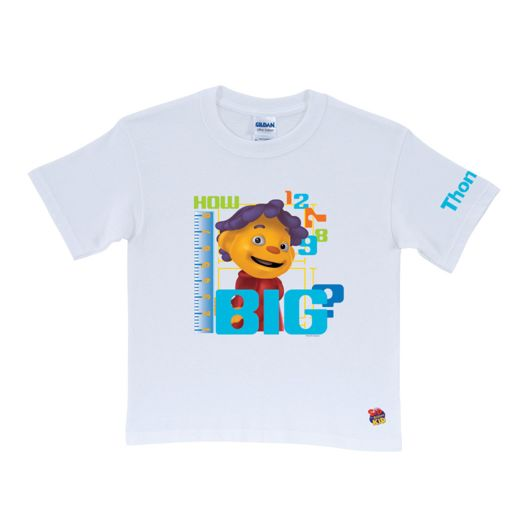 Sid the Science Kid How Big White T-Shirt