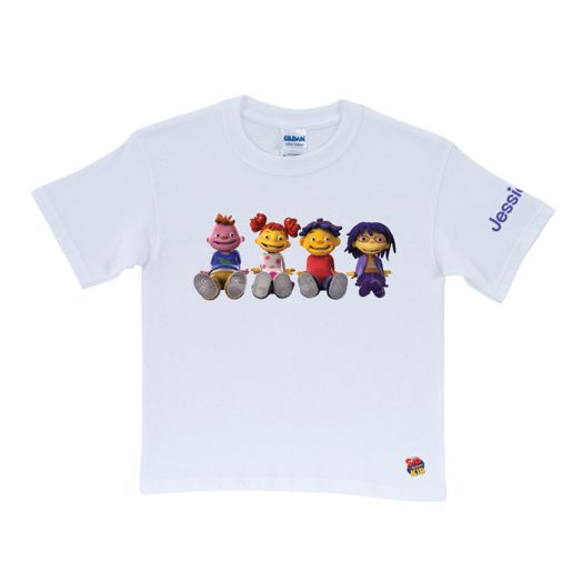 Sid the Science Kid & Friends White T-Shirt