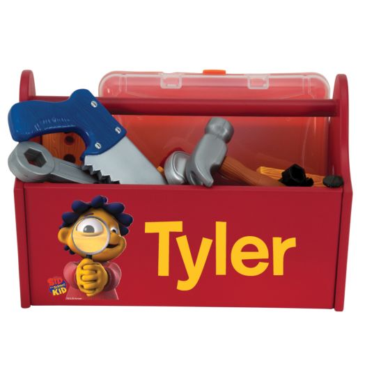 Sid the Science Kid Magnify Red Toy Caddy
