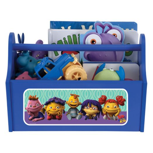 Sid the Science Kid & Friends + 1 Blue Toy Caddy