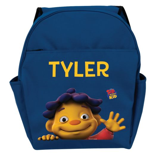 Sid the Science Kid Says Hello Blue Toddler Backpack