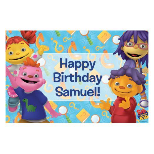 Sid the Science Kid Birthday Dance Placemat