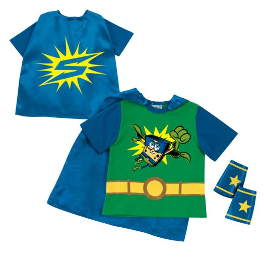 SpongeBob SquarePants Hero Green Super Tee and Cuffs