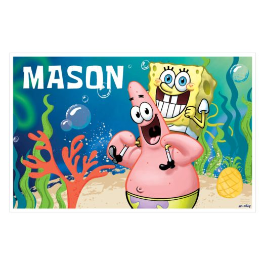 Spongebob Squarepants Starfish Friends Placemat