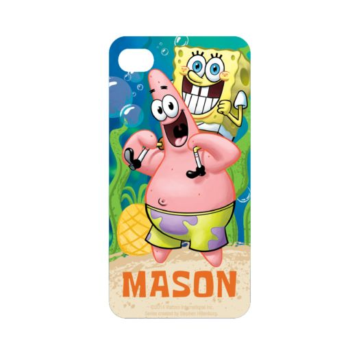 Spongebob Squarepants Starfish Friends iPhone 4 Case