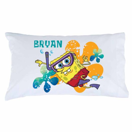 SpongeBob SquarePants Snorkel Pillowcase