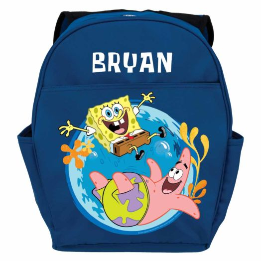 SpongeBob SquarePants Friends Blue Youth Backpack