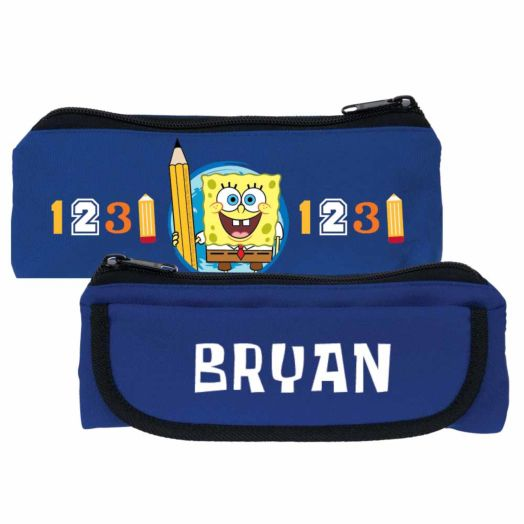 SpongeBob SquarePants School Rocks Blue Pencil Case