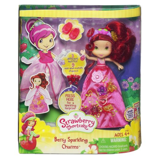 Strawberry Shortcake Berry Sparkling Charms Set