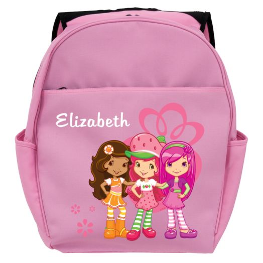 Strawberry Shortcake Berry Friendly Pink Toddler Backpack