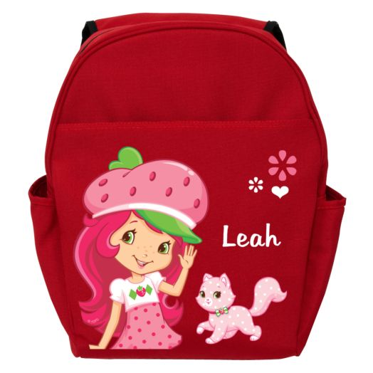 Strawberry Shortcake Kitty Red Toddler Backpack