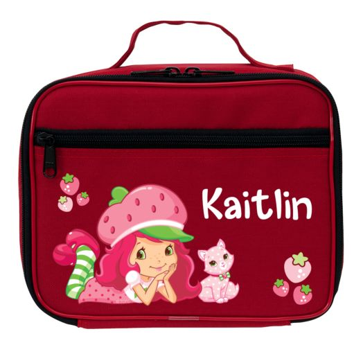 Strawberry Shortcake & Custard Super Sweet Red Lunch Bag