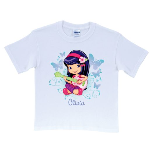 Strawberry Shortcake Cherry Jam White T-Shirt