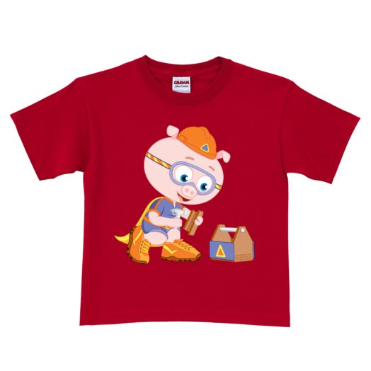 Super Why Alpha Pig Red T-Shirt