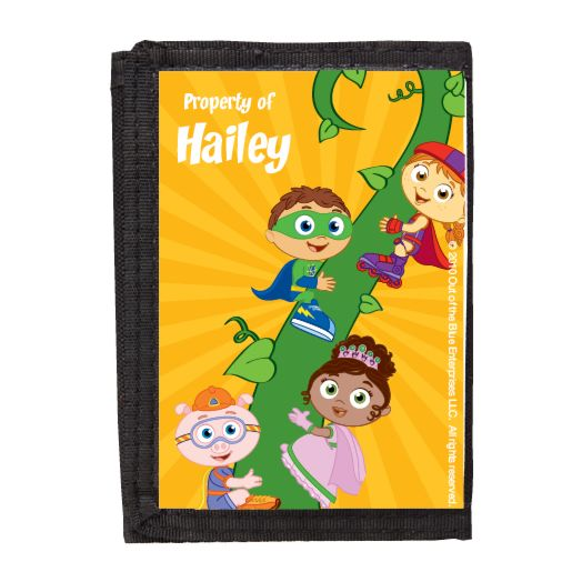 Super Why Lets Read Wallet