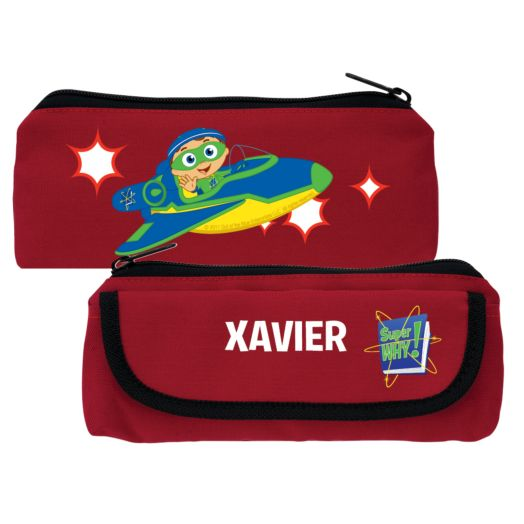 Super Why Back to the Book Club Red Pencil Case