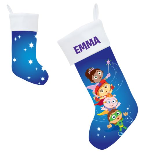 Super Why Super Readers Christmas Stocking