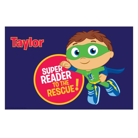 Super Why Super Reader to the Rescue! Placemat