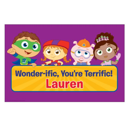 Super Readers Wonder-ific Placemat